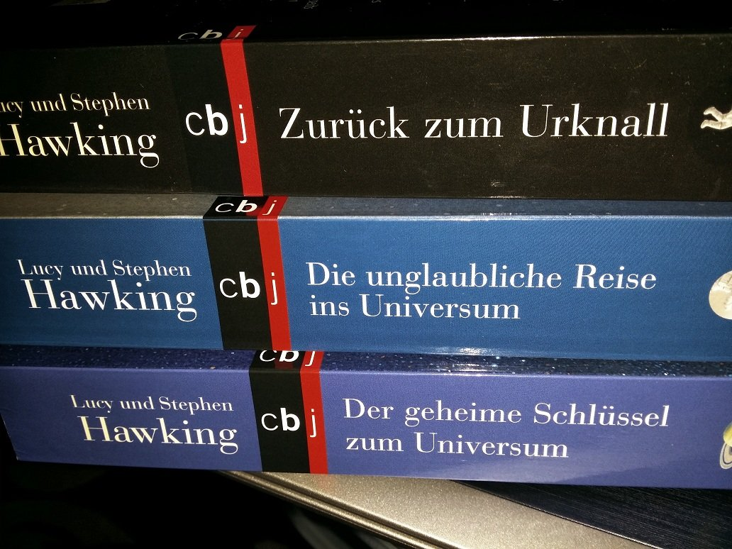"""""""George's Secret Key to the Universe"""" by Lucy & Stephen Hawking - Trilogy"""