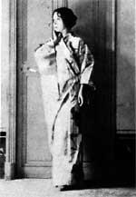 eine echtes Foto, dass Picasso von Eva aufgenommen hat - ein wichtiger Moment, der auch im Buch beschrieben ist
