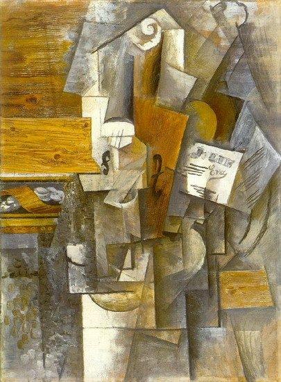 """Picassos Gemälde """"Violon (Jolie Eva)"""""""