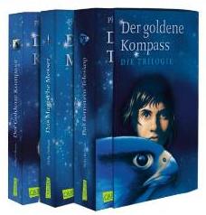 """Der """"His Dark Materials""""-Schuber: Der goldene Kompass, Das Magische Messer, Das Bernstein- Teleskop"""
