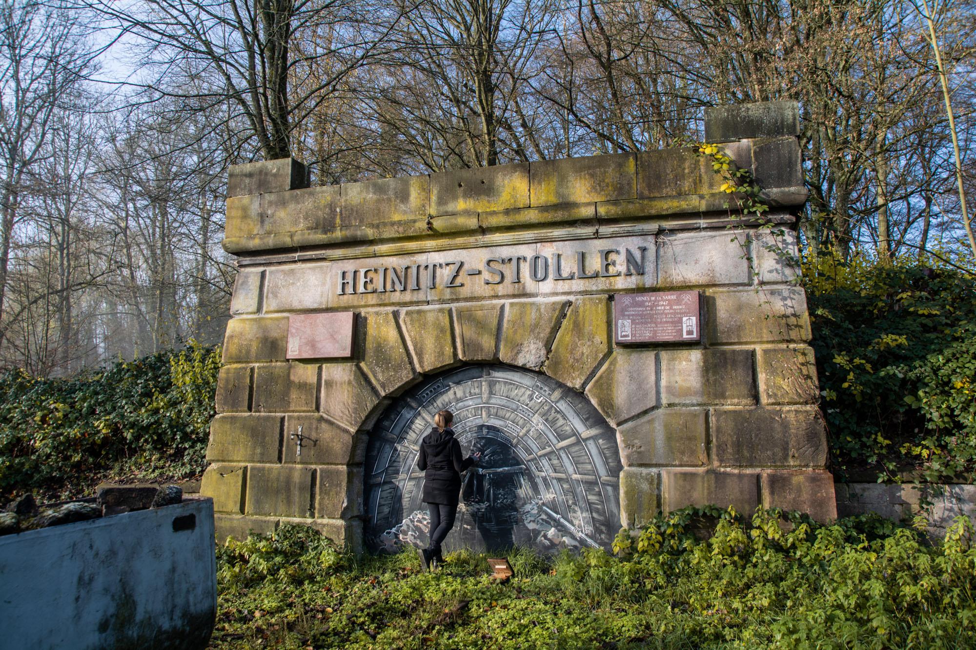 Grube Heinitz | Stollen | Saarland | Zeitreise