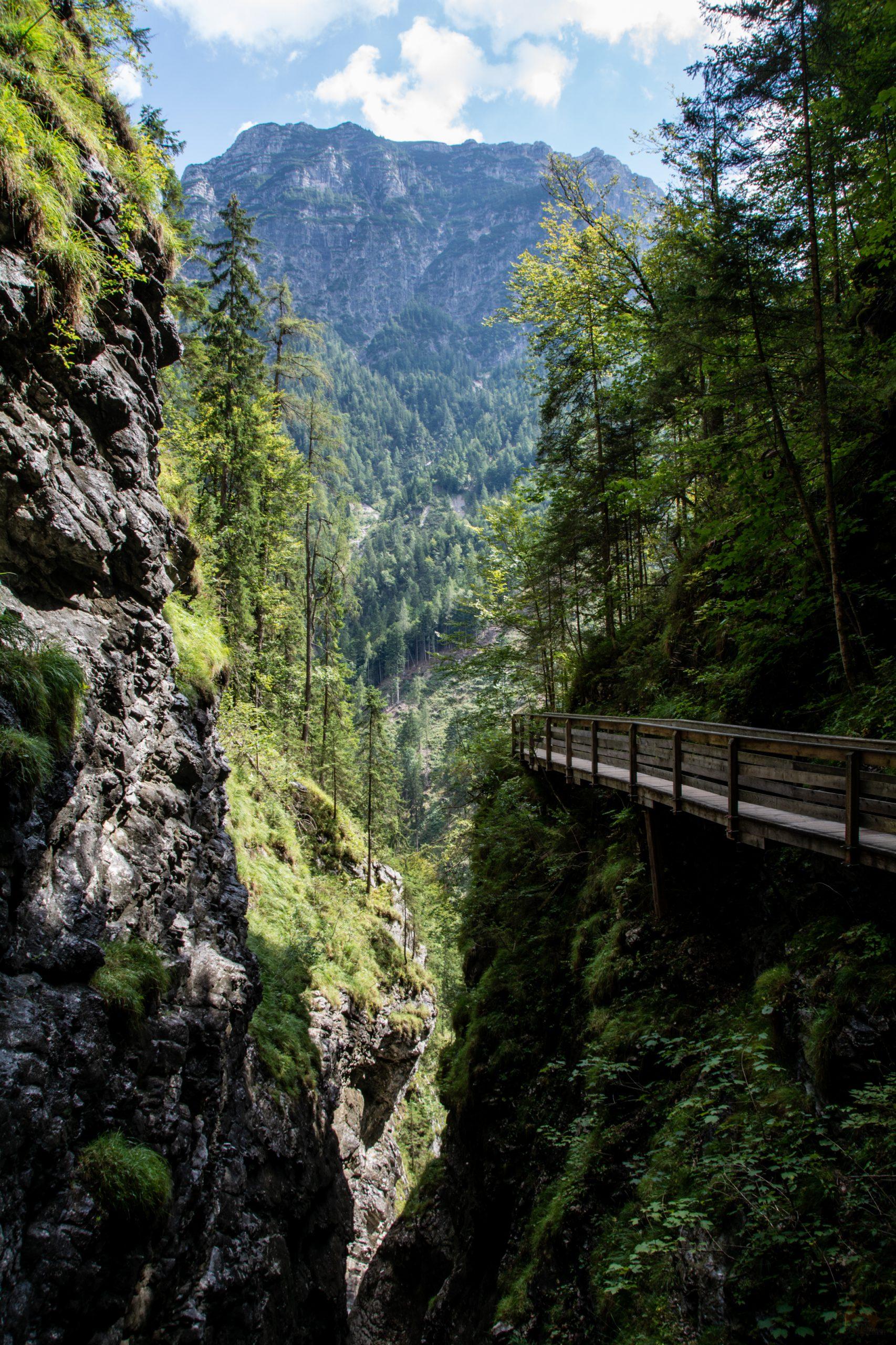 Saalachtaler Naturgewalten | Österreich | Vorderkaserklamm