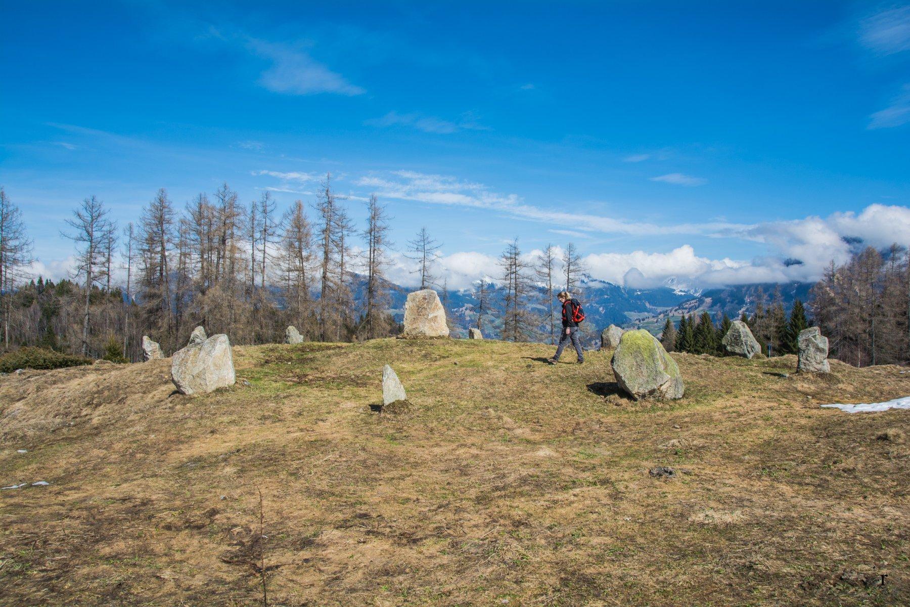Tschengla Rundweg- Steinkreise im Brandnertal