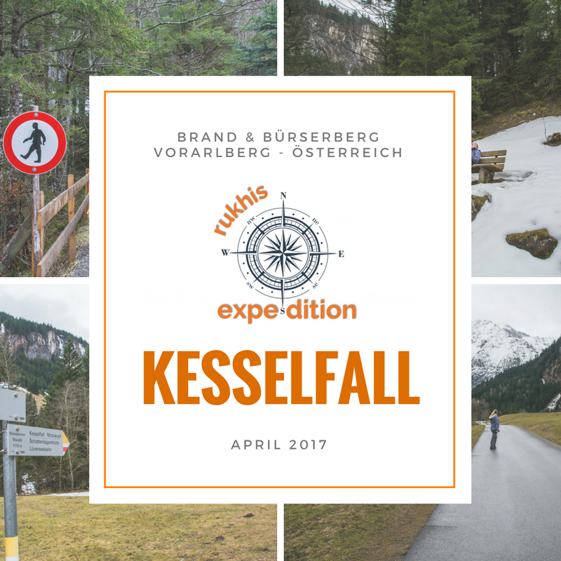 Rukhis Expedition in Österreich - April 2017 - Kesselfall