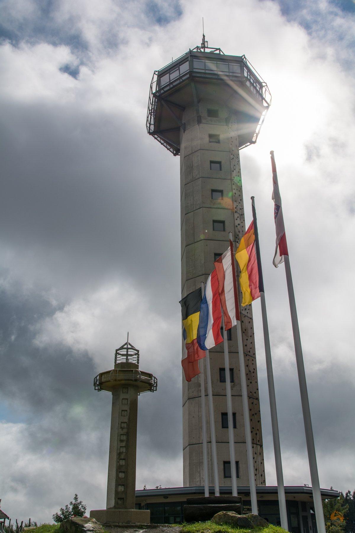 Sauerland - Regen in Willingen - Ettelsberg - Hochheideturm