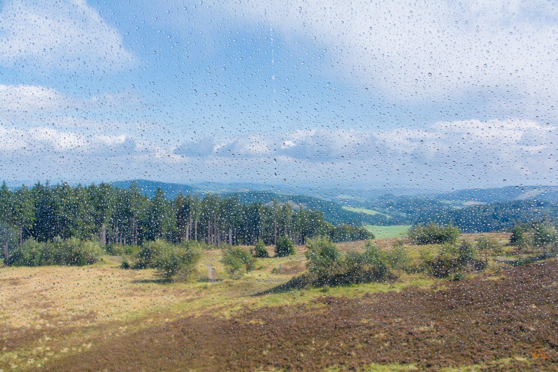 Sauerland - Regen in Willingen - Ettelsberg