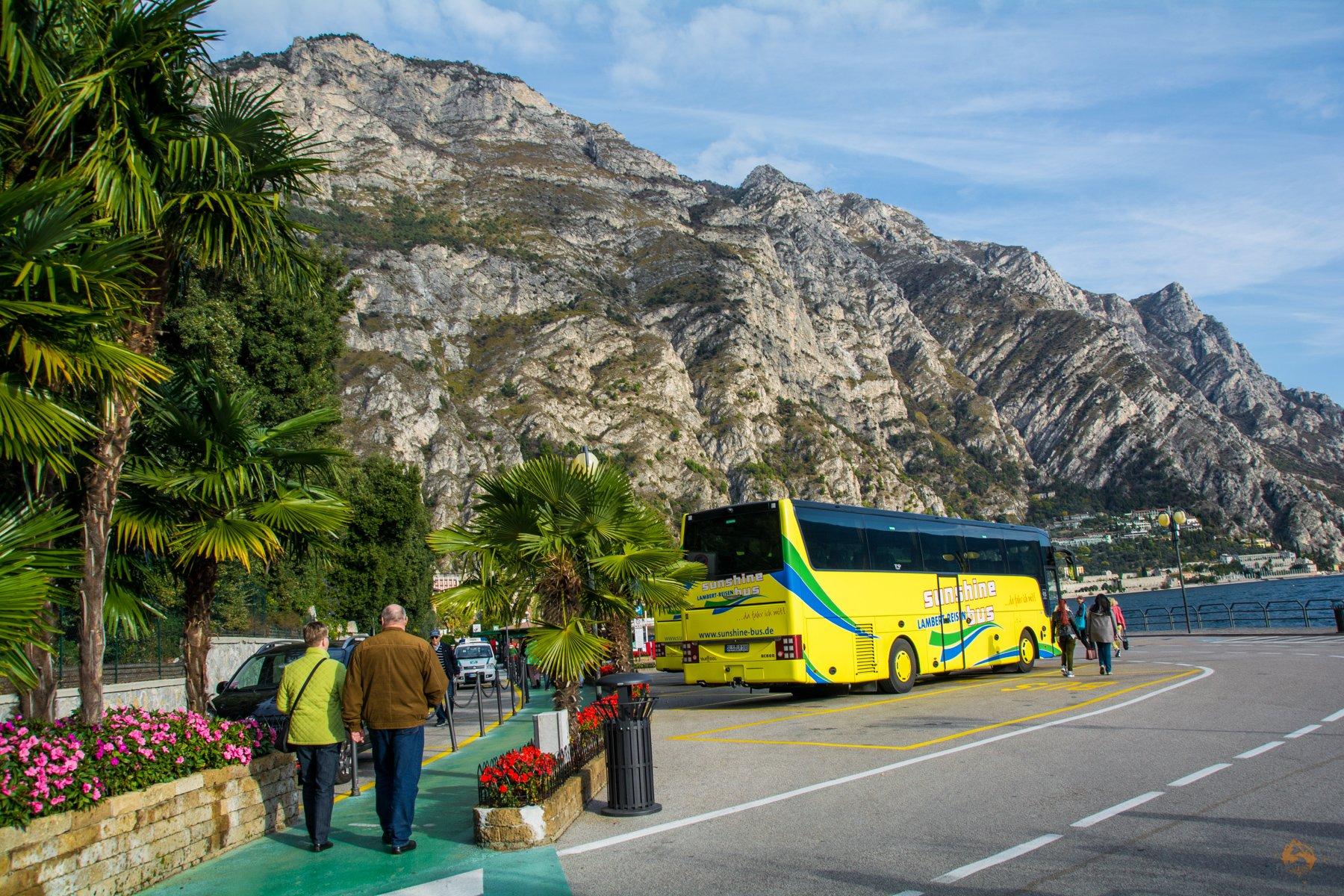 Sunshine Bus - Lambert Reisen - Limone - Gardasee