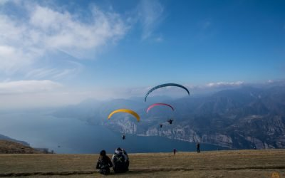 Ein paar Stunden auf dem Monte Baldo   Der Gardasee von oben