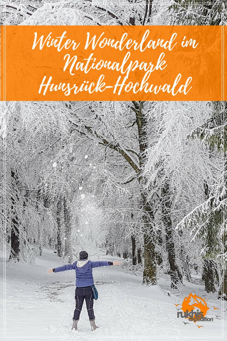 ein paar Stunden im Winter Wonderland auf dem Erbeskopf im Nationalpark Hunsrück-Hochwald | Rukhis Expedition