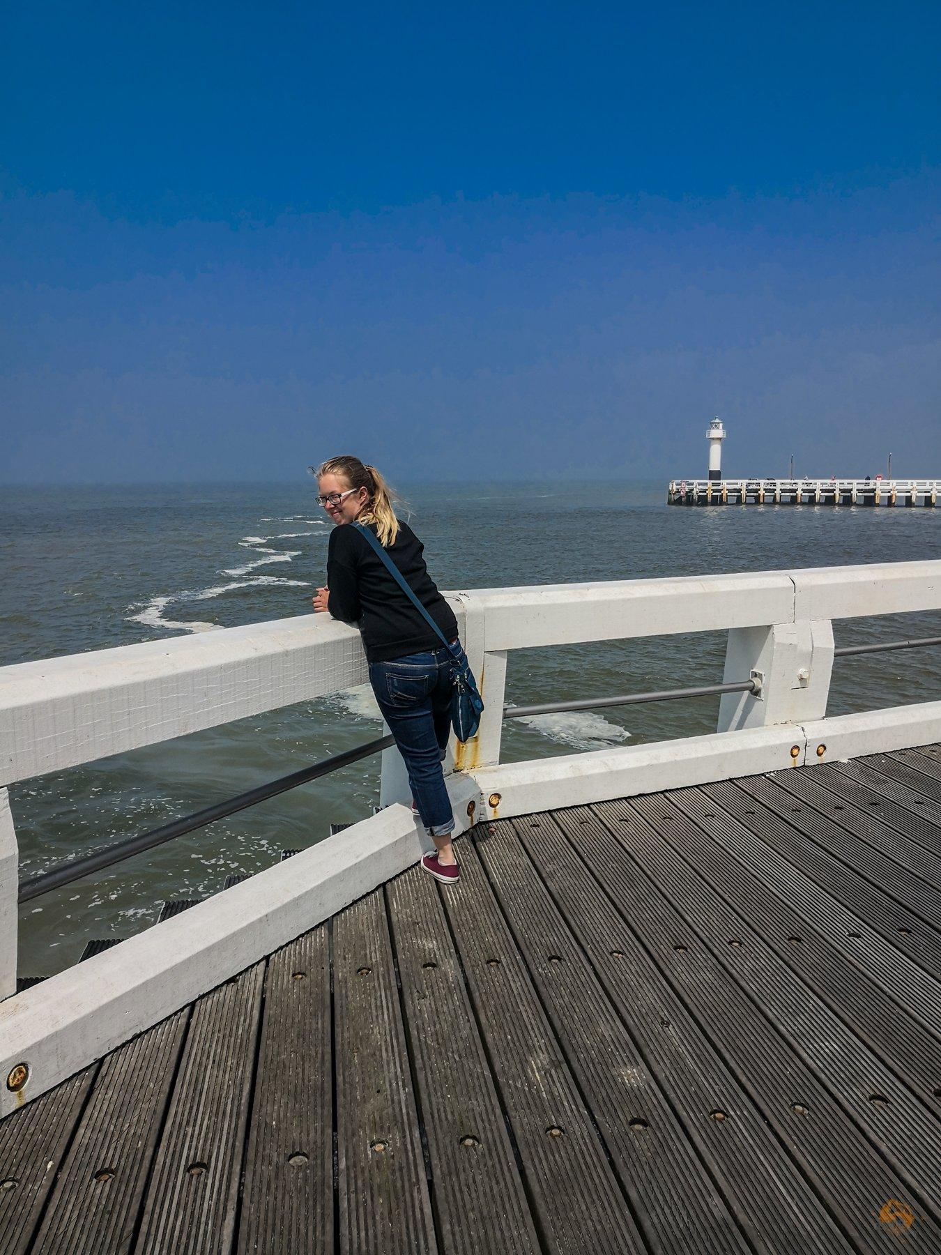 Schnappschüsse von der belgischen Küste - Nieuwpoort