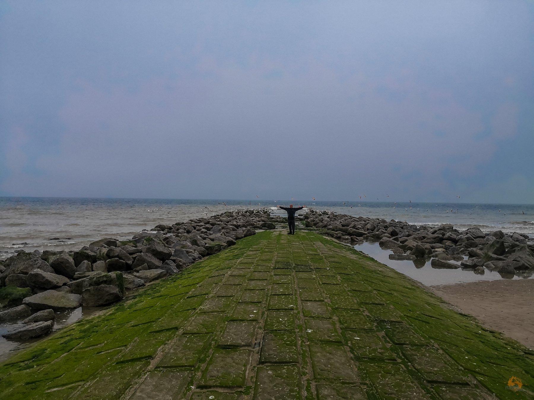 Schnappschüsse von der belgischen Küste - Middelkerke