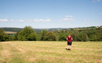 Schöne Aussichten und etwas Nervenkitzel auf dem SchauInsLandWeg bei Ottweiler (Saarland)