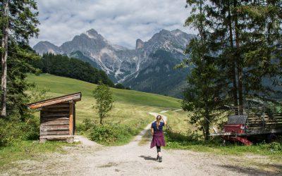Kleiner Spaziergang bei Maria Alm (Österreich) | Auf Heidis Spuren