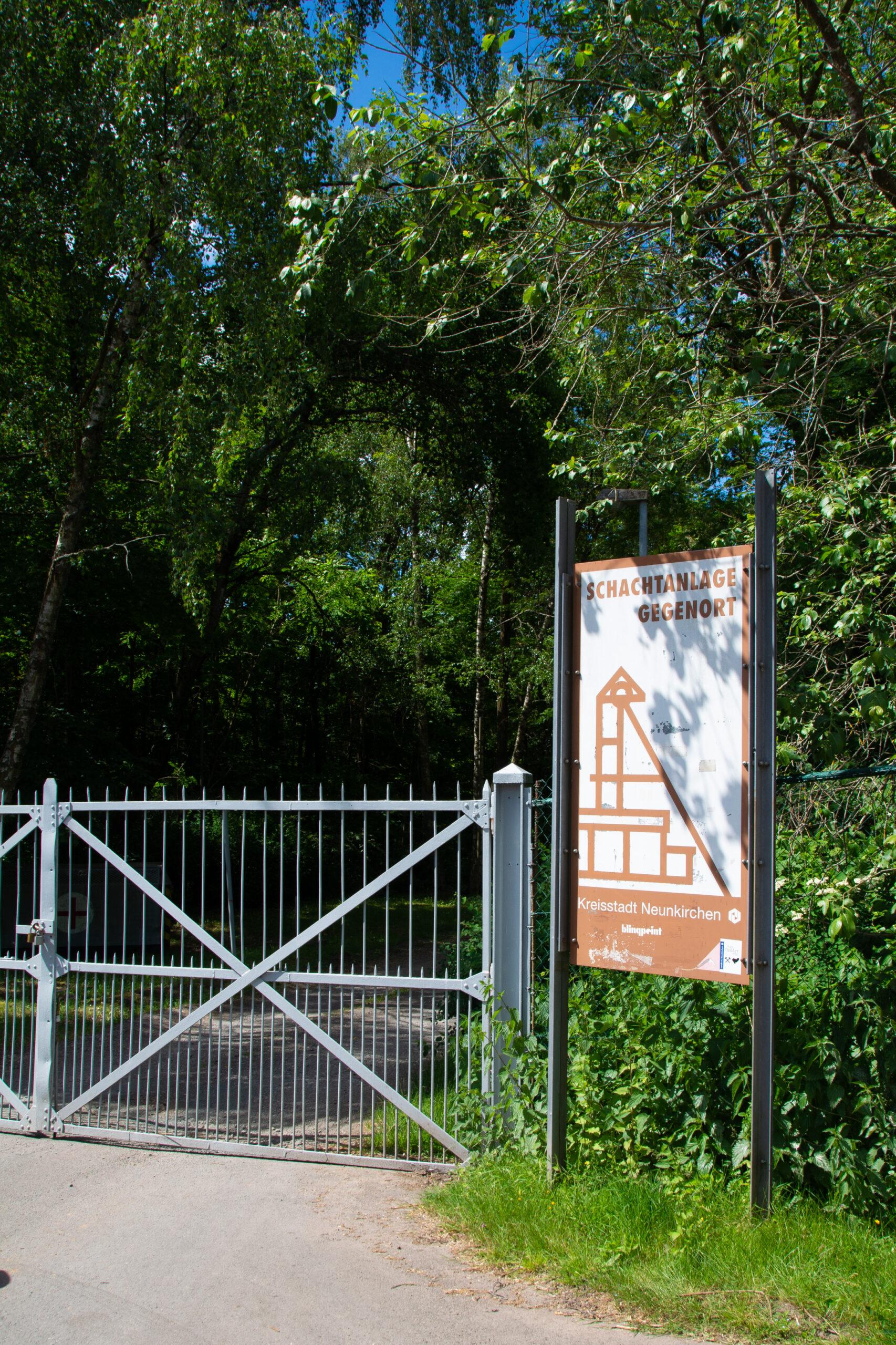 Gegenortschacht Wiebelskirchen | Dreischleifenweg Kohlwald | Neunkirchen | Saarland | Bergbau
