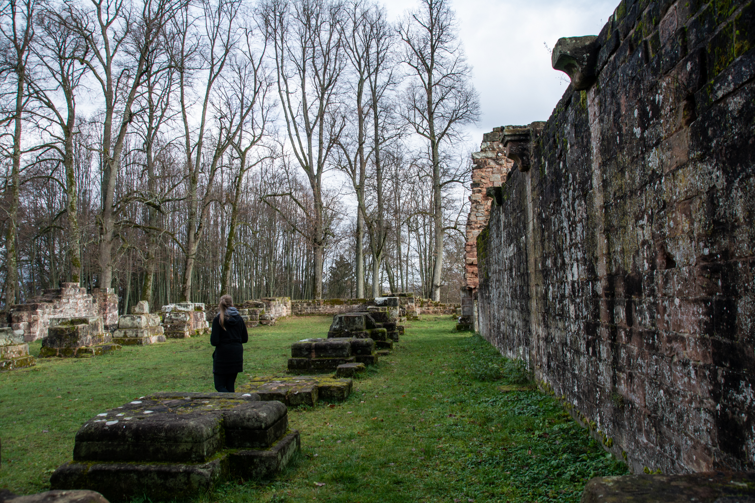 Klosterruine Wörschweiler   Homburg   Saar-Pfalz   Saarland