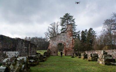 Die Klosterruine Wörschweiler bei Homburg