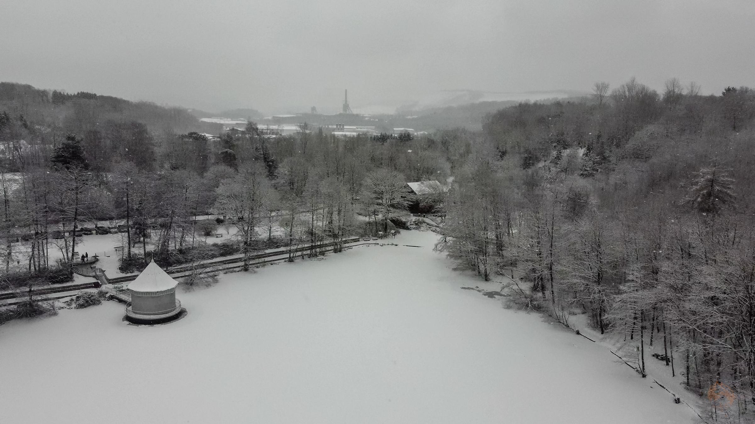 Itzenplitzer Weiher | Heiligenwald | Neunkirchen | Saarland | Bergbau