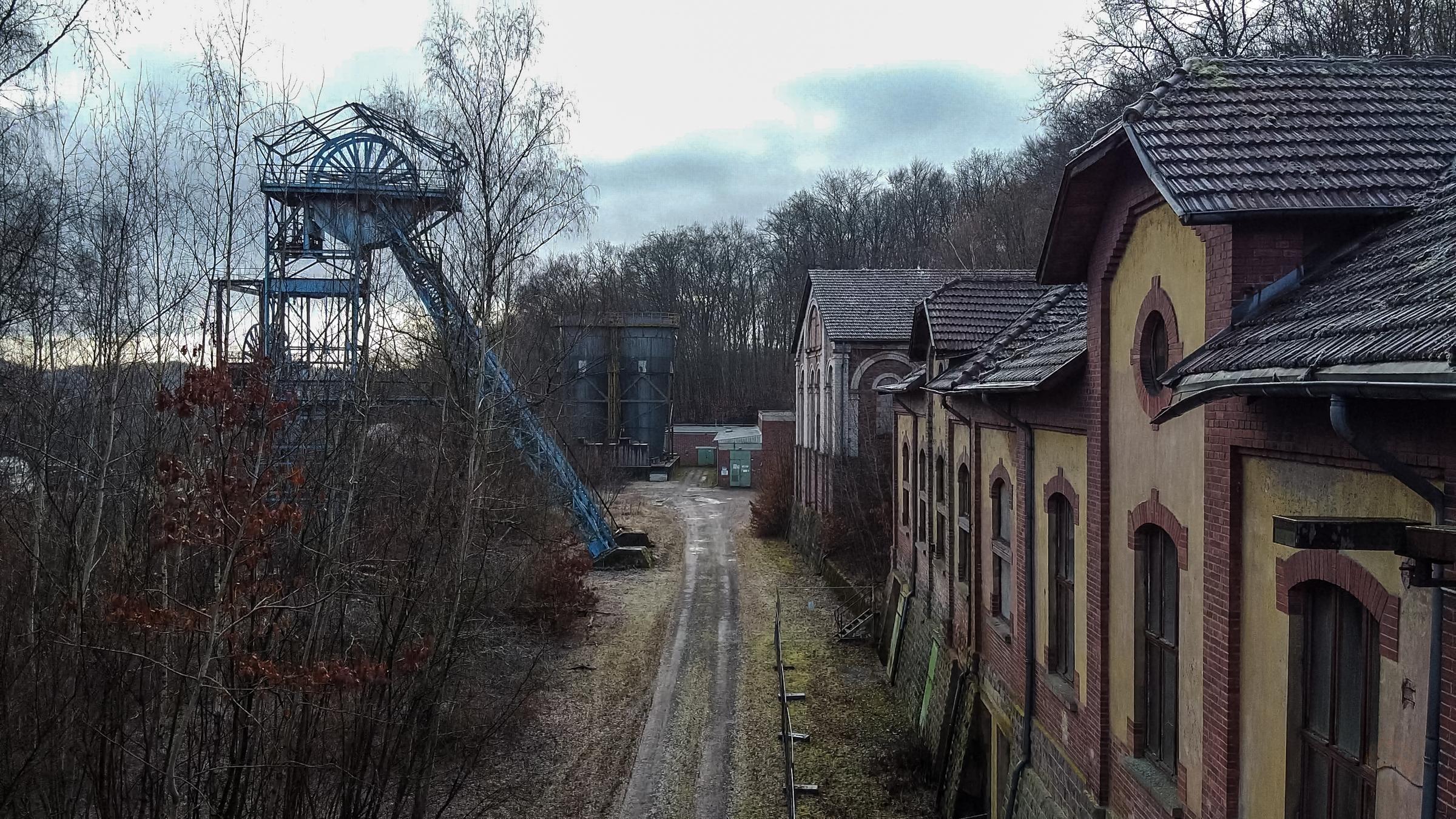 Grube Itzenplitz | Heiligenwald | Neunkirchen | Saarland | Bergbau