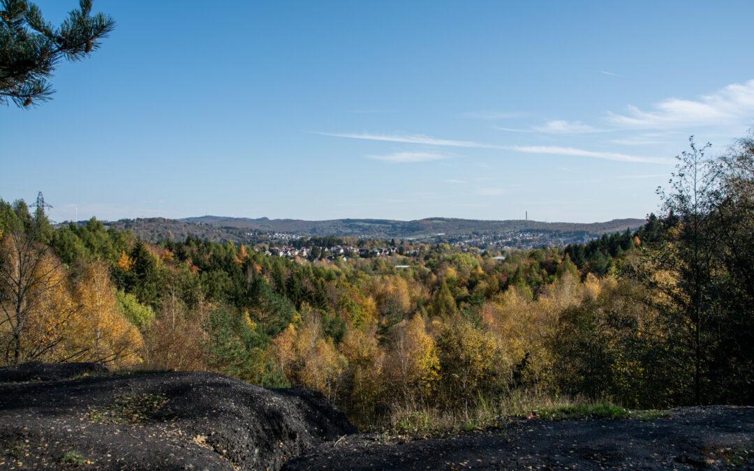 Die ehemalige Halde der Grube Kohlwald bei Neunkirchen | Bergbau im Saarland